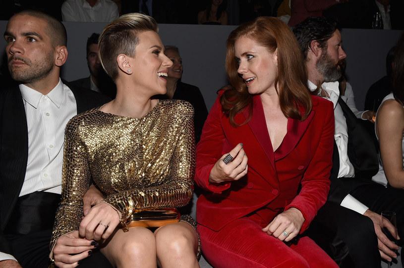 Scarlett Johansson i Romain Durac na jednej z imprez /Michael Buckner  /Getty Images