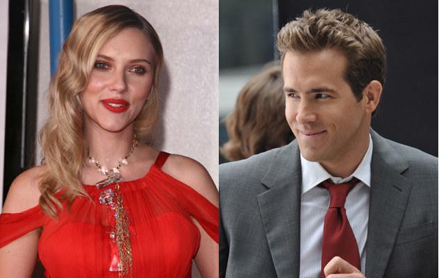 Scarlett Johansson, Ryan Reynolds  /Splashnews
