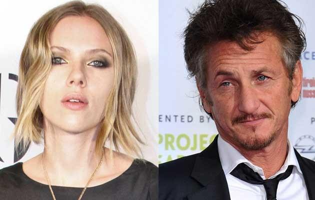 Scarlett Johansson, Sean Penn  /Splashnews