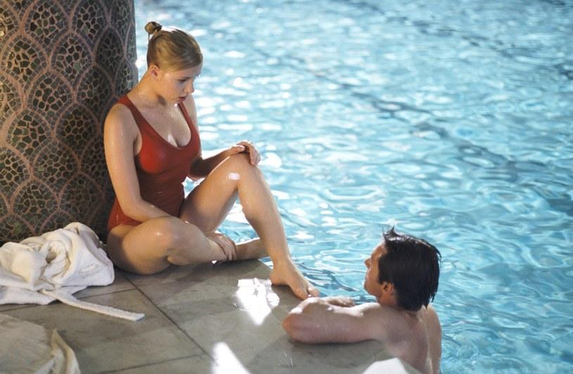 "Scarlett Johansson w filmie Woody'ego Allena ""Scoop - Gorący temat"" /Everett Collection /East News"