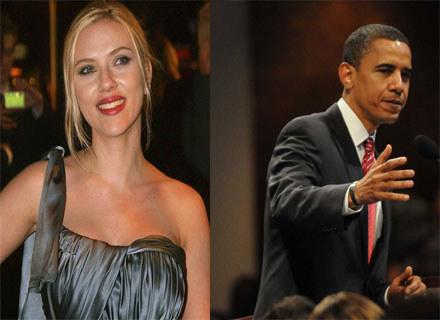 Scarlett Johansson wspiera Baracka Obamę, ale nie dla jego wyglądu. /AFP