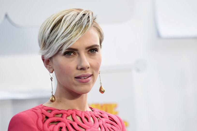 "Scarlett Johansson zagra w ""Ghost in the Shell"" /Michael Buckner  /Getty Images"