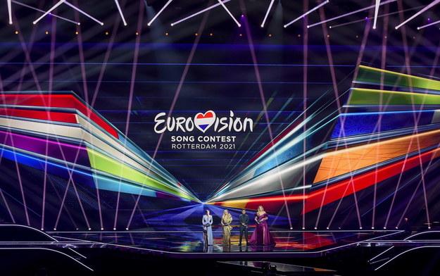 Scena festiwalu, podczas otwarcia wielkiego finału /PATRICK VAN EMST / POOL /PAP/EPA