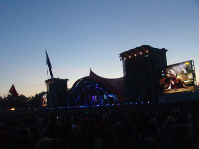 Scena podczas koncertu Tool /INTERIA.PL