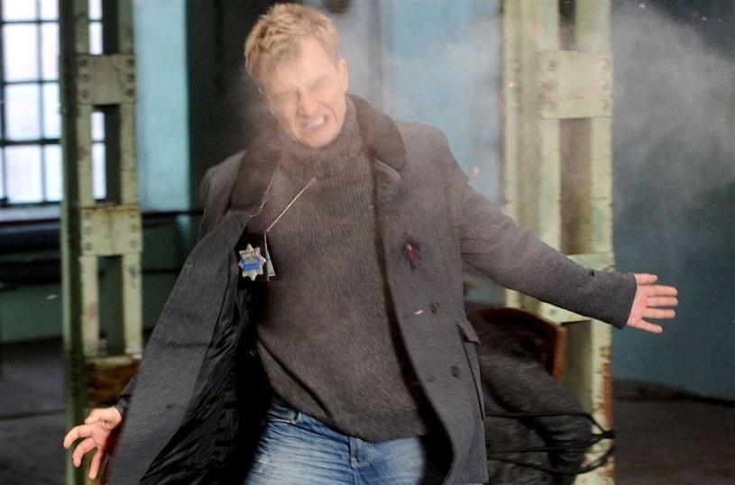 Scena śmierci Marka Bromskiego /Agencja W. Impact