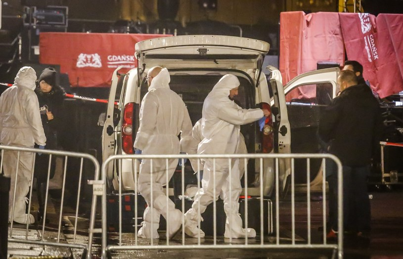Scena WOŚP po ataku na Pawła Adamowicza, zdjęcie archiwalne z 13 stycznia 2019 r /KAROLINA MISZTAL/REPORTER /Reporter