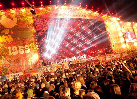Scena XV Przystanku Woodstock podczas koncertu z okazji 40-lecia /WOŚP