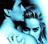 """Scena z filmu """"Nagi instynkt"""" z Sharon Stone /"""