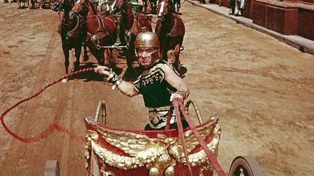 """Sceną, z której """"Ben-Hur"""" jest najbardziej pamiętany, jest oczywiście finałowy wyścig rydwanów /materiały dystrybutora"""