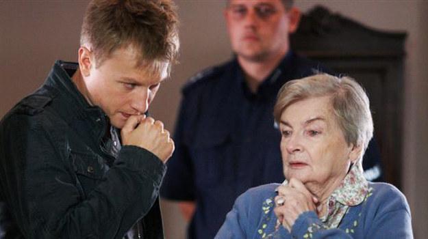 """Scena z odcinka """"Zaginione starsze panie"""", emisja w sobotę o godz. 20.20 w TVP 1 /materiały prasowe"""