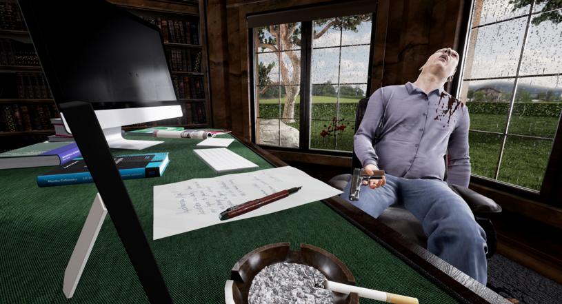 Scena zbrodni w VR zaaranżowana dla studentów prawa /materiały prasowe