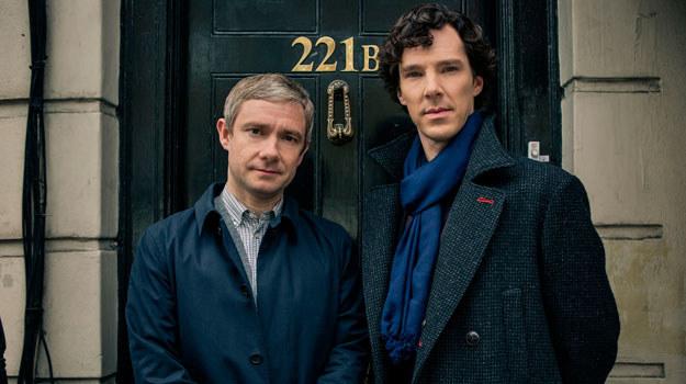 """Scenariusz odcinka """"Sherlock i upiorna panna młoda"""" został  napisany przez Stevena Moffata i Marka Gatissa /BBC"""