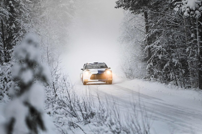 Sceneria podczas Rajdu Arktycznego /AFP