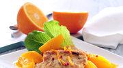 Schab w pomarańczach