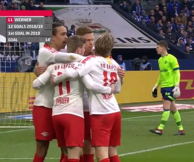 Schalke 04 - RB Lipsk 0-1 - skrót (ZDJĘCIA ELEVEN SPORTS). WIDEO