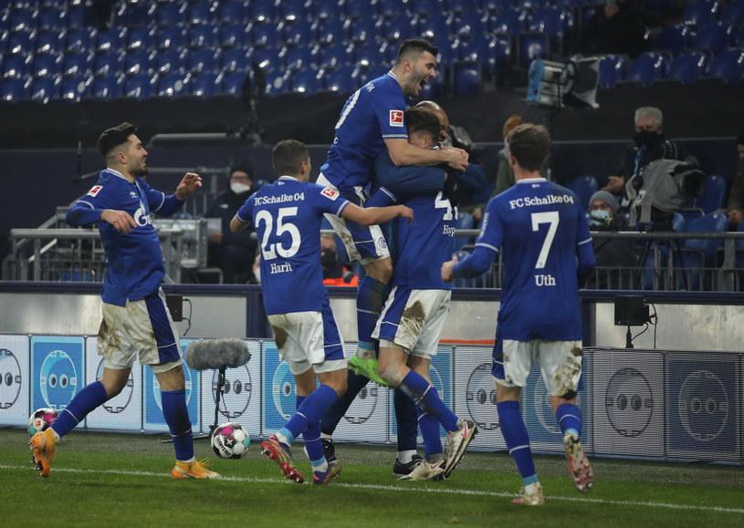 Schalke wygrało w lidze po 30 meczach bez zwycięstwa /Lars Baron /PAP