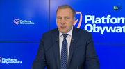 Schetyna: Demokracja parlamentarna jest przez PiS niszczona