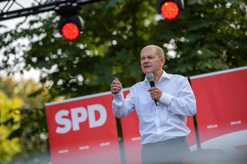 Scholz z SPD będzie wygranym? Zieloni wielką siłą /AFP