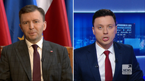 """Schreiber w """"Gościu Wydarzeń"""": Część senatorów opozycji rozważa poparcie dla Wróblewskiego"""