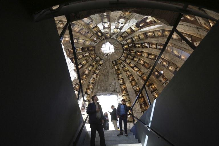Schron w Tiranie /AFP