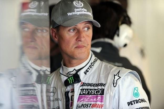 Schumacher nie ma powodów do zadowolenia... /AFP