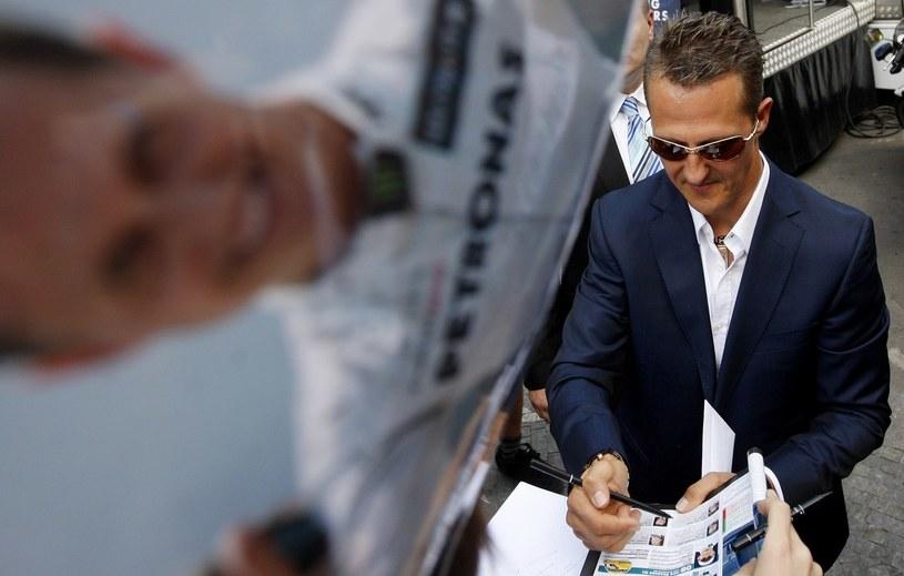 Schumacher obchodzi okrągły jubileusz /AFP