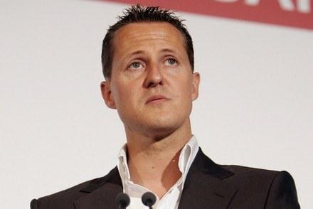 Schumacher podczas konferencji poświęconej bezpieczeństwu na drogach / Kliknij /AFP