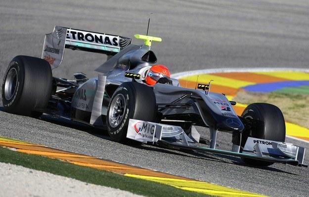 Schumacher w mercedesie /AFP