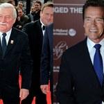 Schwarzenegger docenia Wałęsę