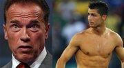 Schwarzenegger pod wrażeniem... muskułów Ronaldo