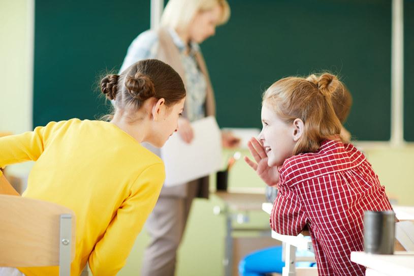 Ściąganie jest poważnym szkolnym problemem /123RF/PICSEL