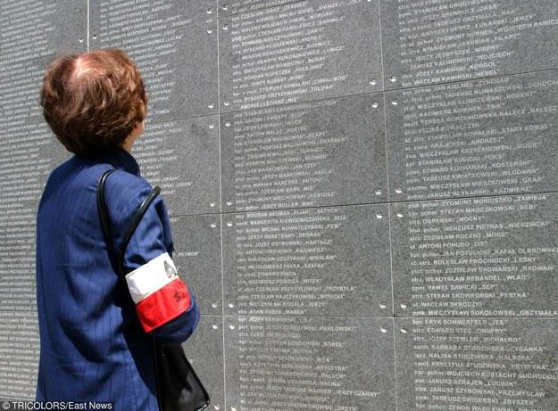 Ściana Pamięci w Muzeum Powstania Warszawskiego /Tricolors /East News