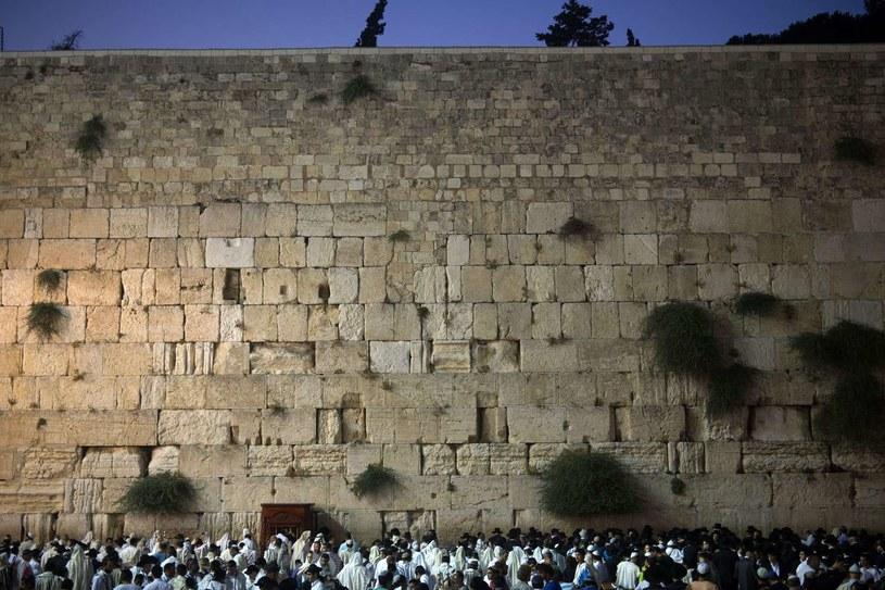 Ściana Płaczu /MENAHEM KAHANA /AFP
