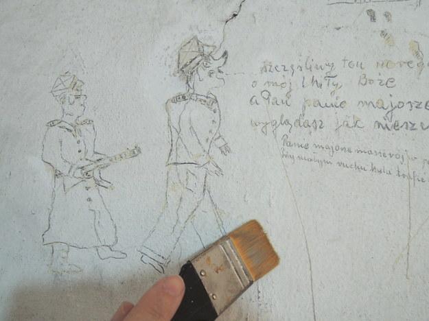 Ściana po oczyszczeniu /IPN