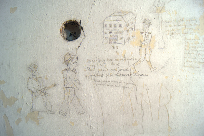 Ściana przed konserwacją /IPN
