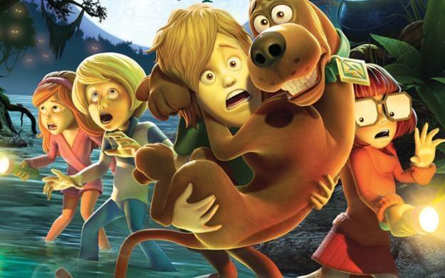 Scooby-Doo! Nawiedzone Bagno - motyw graficzny /Informacja prasowa