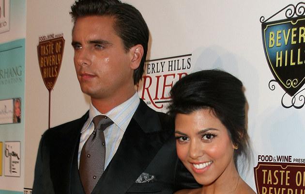 Scott Disick i Kourtney Kardashian /Valerie Macon /Getty Images