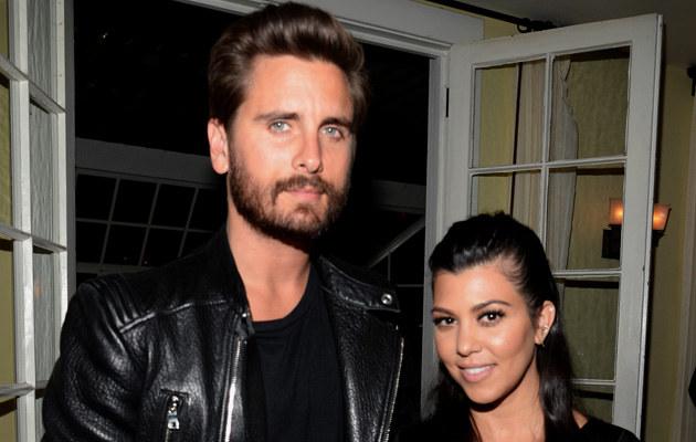 Scott Disick i Kourtney Kardashian /Chris Weeks /Getty Images