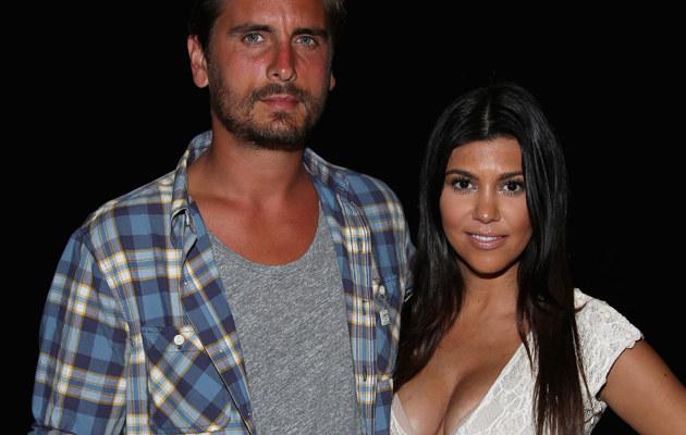 Scott Disick i Kourtney Kardashian /Paul Zimmerman /Getty Images
