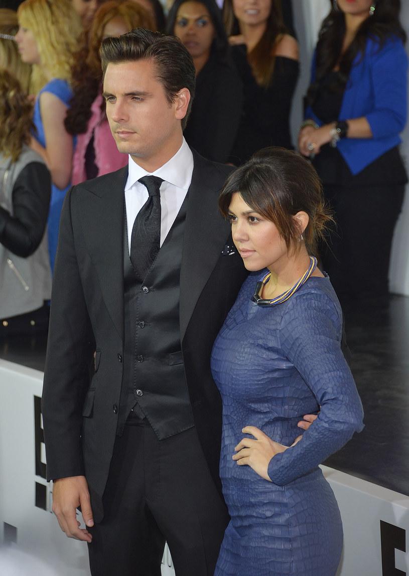 Scott Disick i Kourtney Kardashian /Mike Coppola /Getty Images