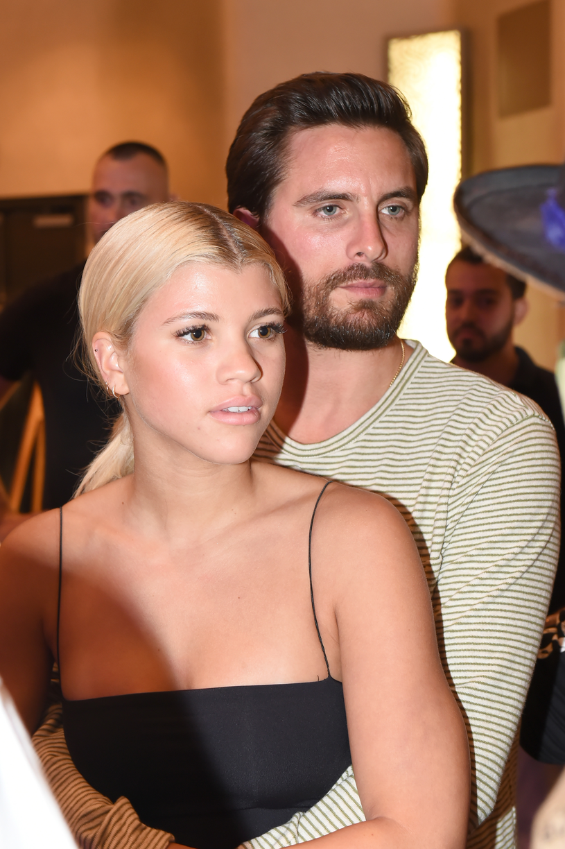 Scott Disick i Sofia Richie /Romain Maurice /Getty Images
