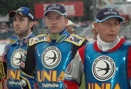 Scott Nicholls, Stanisław Burza i Jacek Gollob na pewno chcą szybko zapomnieć o sezonie 2006 /Tomasz Szatkowski