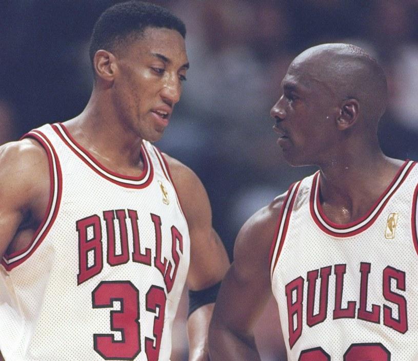 Scottie Pippen i Michael Jordan /Jonathan Daniel /Getty Images
