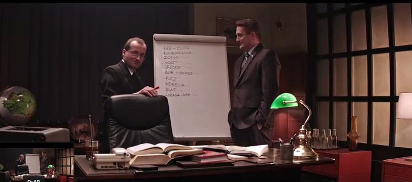 """Screen z 12. odcinka """"27:1"""" /YouTube"""