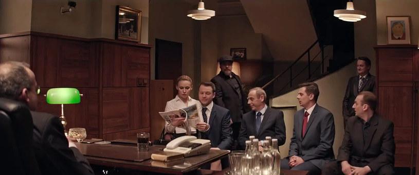 """Screen z 13. odcinka """"Ucha Prezesa"""" /YouTube"""