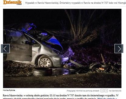 Screen z https://dzienniklodzki.pl /