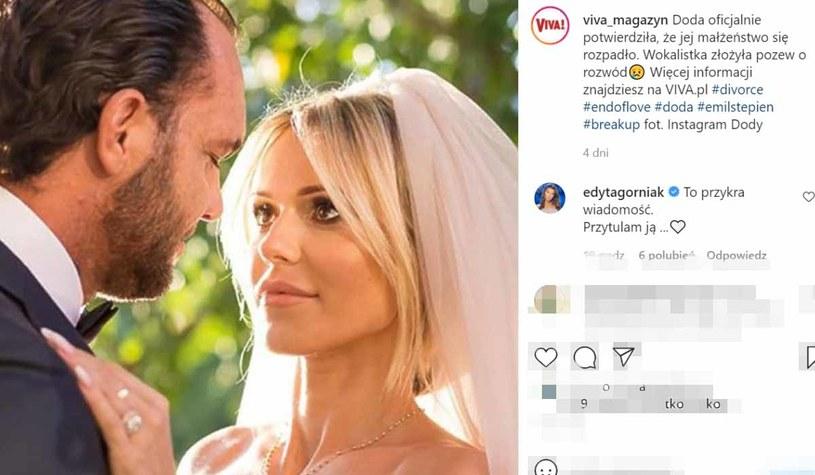 "screen z Instagrama ""Vivy"", fot. https://www.instagram.com/viva_magazyn/ /Instagram"
