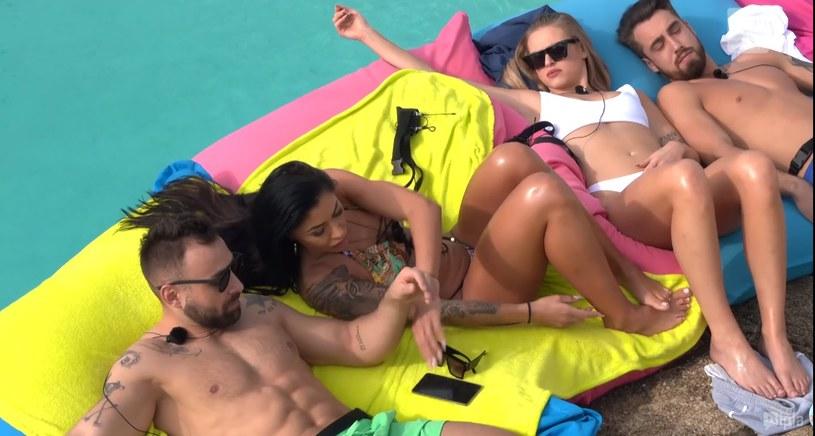 """Screen z """"Love Island. Wyspa Miłości"""" odcinek 5. /Polsat/Ipla /Polsat"""