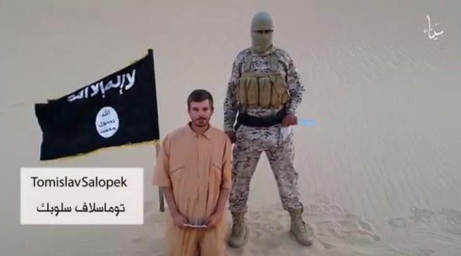 Screen z opublikowanego przez IS filmu /