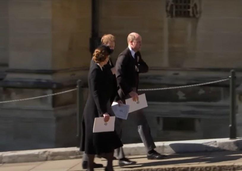 Screen z pogrzebu księcia Filipa. BBC /YouTube.com /